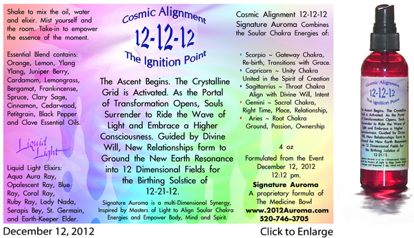 12-12-12 Cosmic Alignment The Ignition Point
