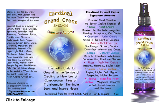Cardinal Grand Cross Information