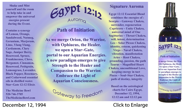 Egypt 12:12 Path of Initiation