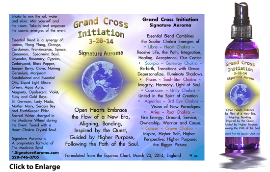 Grand Cross Initiation Information