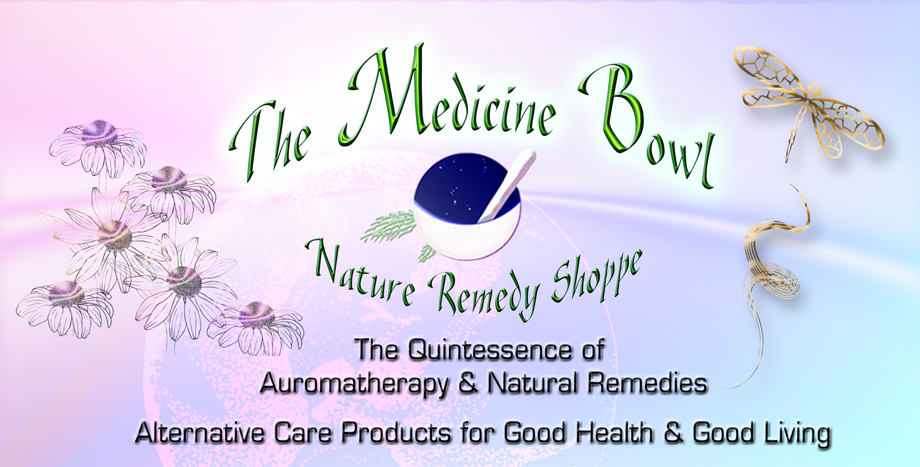The Medicine Bowl Nature Remedy Shoppe Header
